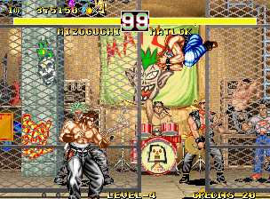 Fighter's History Dynamite Neo Geo Fighting Matlok