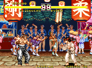 Fighter's History Dynamite Neo Geo Fighting Kyoko