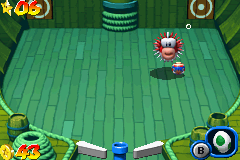 Mario Pinball Land Game Boy Advance This apparently defenseless prickly fish is a boss. Yes, a boss!