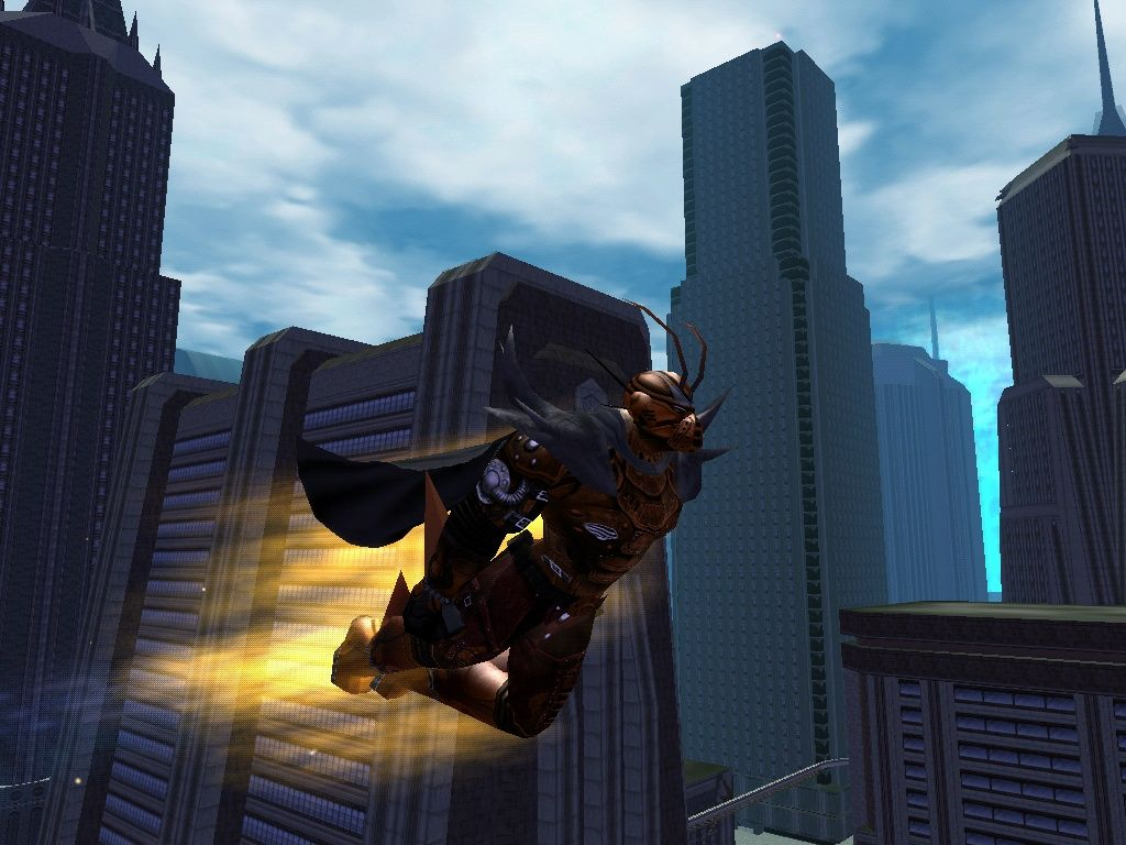City of Heroes Windows Superhero Flying