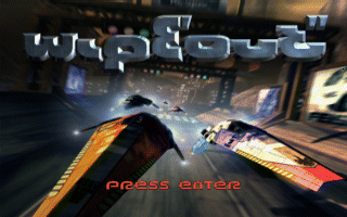 WipEout DOS Title screen
