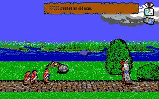 J.R.R. Tolkien's War in Middle Earth DOS Frodo meets an old man