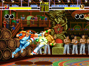 Fatal Fury Neo Geo Terry's Burn Knuckle was connected with success!