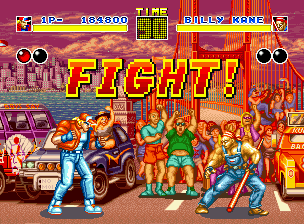 Fatal Fury Neo Geo Billy Kane is very tough to defeat: he possess very fast moves and some times, indefensible!