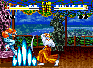 Fatal Fury Neo Geo The revenge against Geese Howard begins!