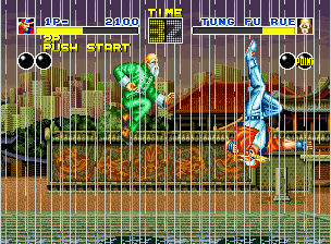 Fatal Fury Neo Geo Fighting in the rain again, why not?