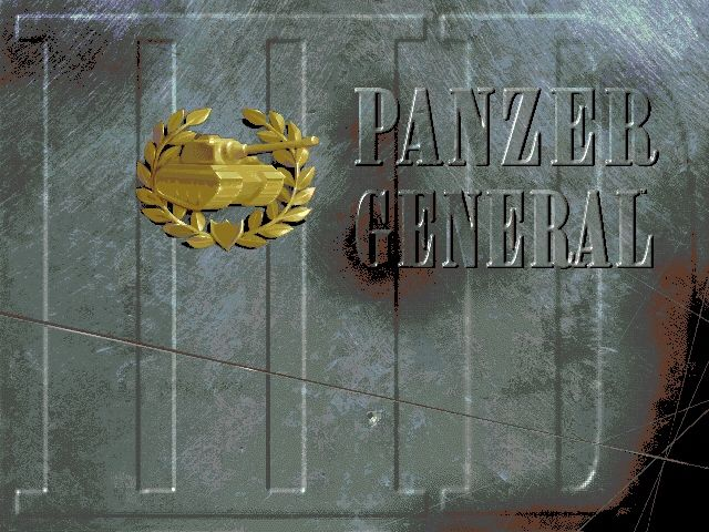 Panzer General II Windows Title screen
