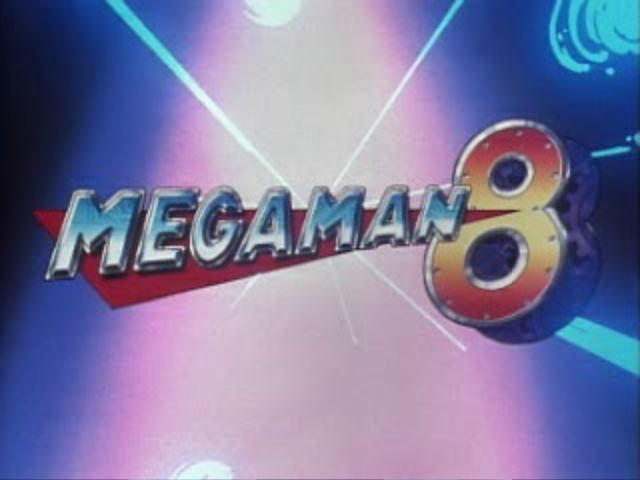 Mega Man 8: Anniversary Edition PlayStation Main Title (From Intro FMV)