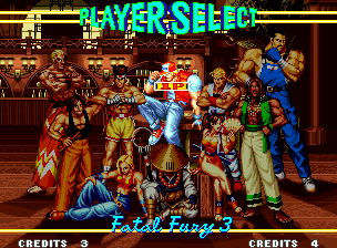 Fatal Fury 3: Road to the Final Victory Neo Geo Select your fighter (including some new) and have a good match!