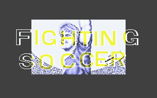 Fighting Soccer Atari ST Title screen