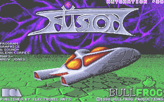 Fusion Atari ST Title screen