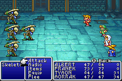 Final Fantasy I & II: Dawn of Souls Game Boy Advance More fighting (FF1)