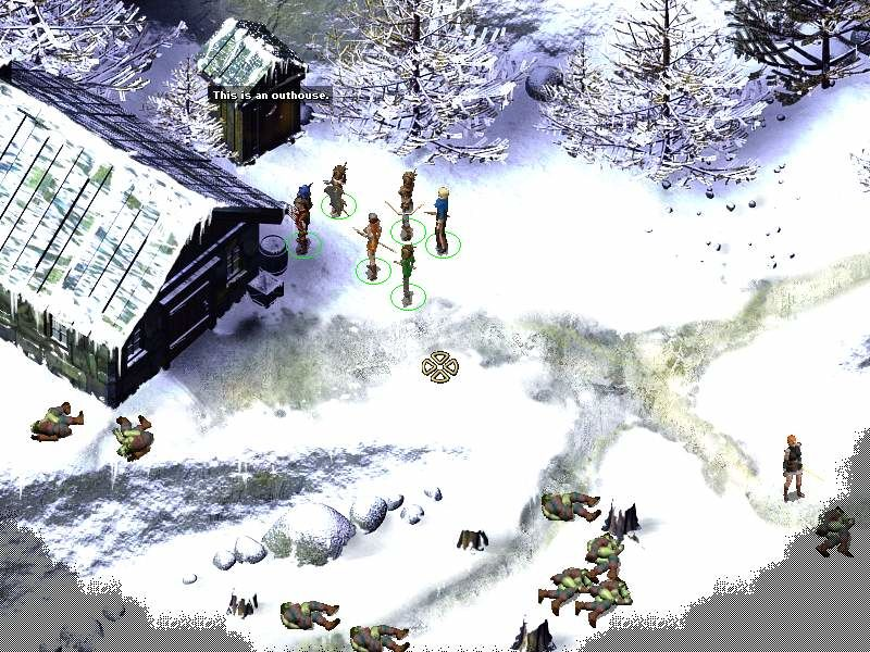 Icewind Dale II Windows Who will use the outhouse as first? ;-)