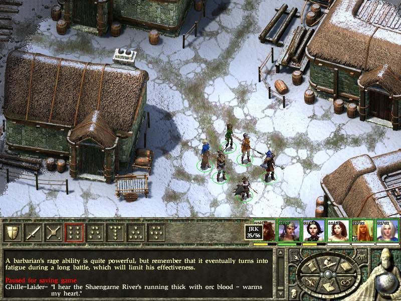 Icewind Dale II Windows Civilized place in far North