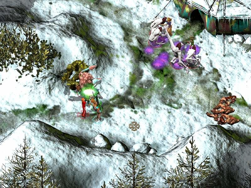 Icewind Dale II Windows Big fight with witch