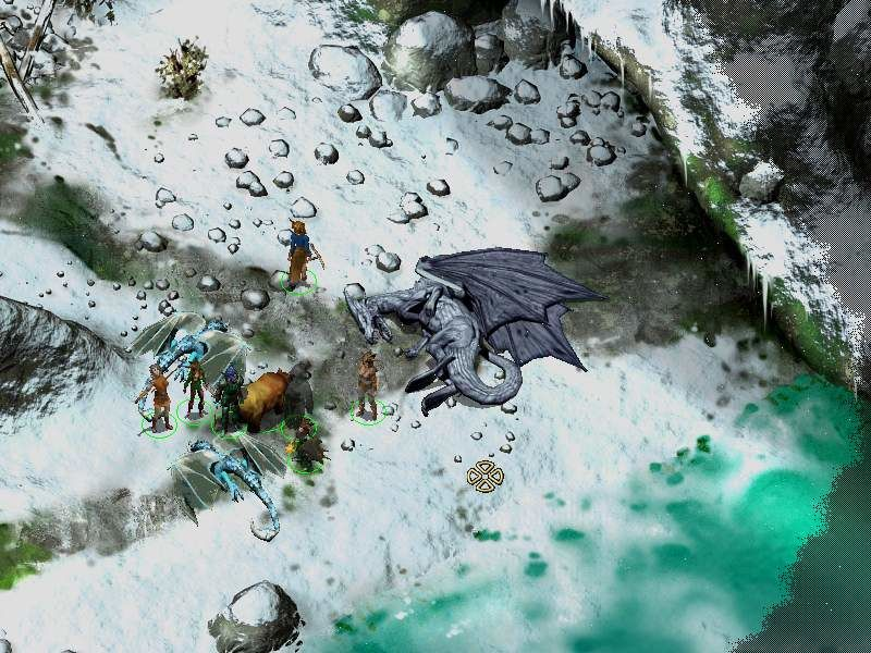 Icewind Dale II Windows A dragon is dead!