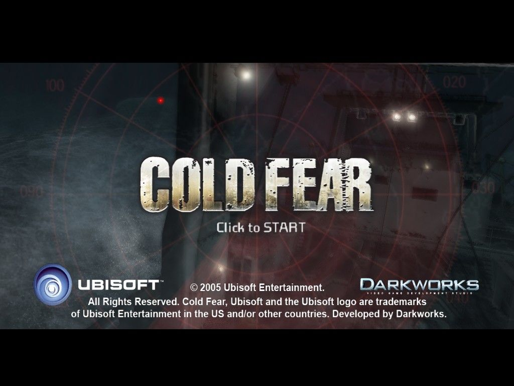 Cold Fear Windows Main Title