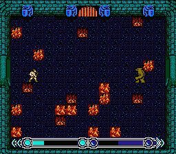 "Archon: The Light and the Dark NES Combat between light archer and dark square on a square of ""neutral color""; neither side gets a health bonus on such a square"