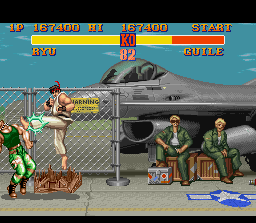 Street Fighter II SNES Make the enemy to suffer using an audacious Hurricane Kick, it's a big deal!