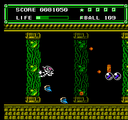 Xexyz NES Shooter sequence