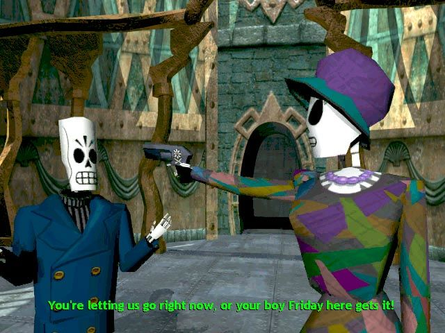 Grim Fandango Windows The love relationship between the hero and the heroine will undergo quite a lot of sudden changes...