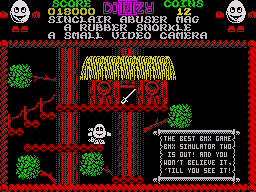 Treasure Island Dizzy ZX Spectrum A bit of advertising for another great game