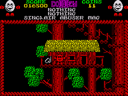 Treasure Island Dizzy ZX Spectrum After a long jumping session you will find the snorkel