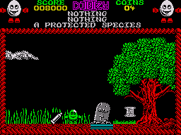 Treasure Island Dizzy ZX Spectrum The toothpaste is scarlet fish flavour could this be a very important item