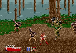 Golden Axe II Genesis No fair! 4 on 1!