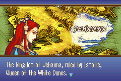 Fire Emblem: The Sacred Stones Game Boy Advance Prologue - introducing the six kingdoms