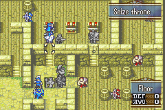 Fire Emblem: The Sacred Stones Game Boy Advance In this battle you have to break through the walls and lock-pick the doors to get to the enemy