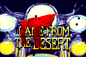 It Came from the Desert TurboGrafx CD Title Screen