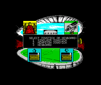 Kenny Dalglish Soccer Manager ZX Spectrum Choose controls