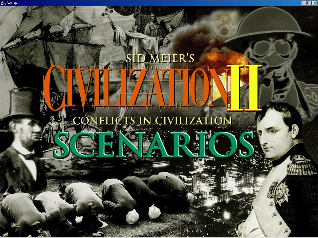 Sid Meier's Civilization II Scenarios: Conflicts in Civilization Windows Installation