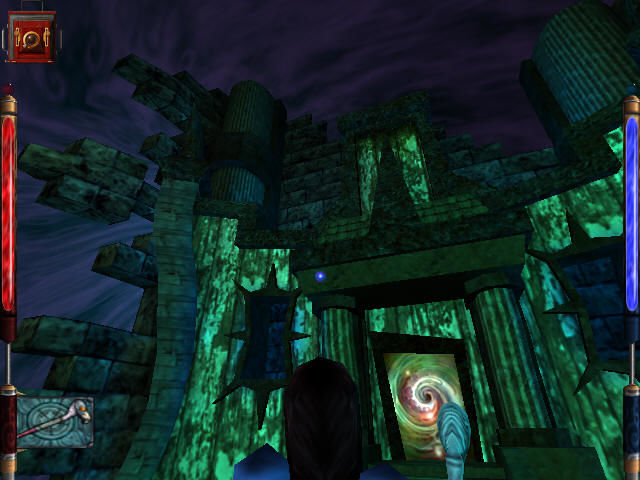 American McGee's Alice Windows Looking at a portal in a portal