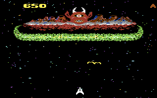 Demon Attack Commodore 64 Attack on the mother ship