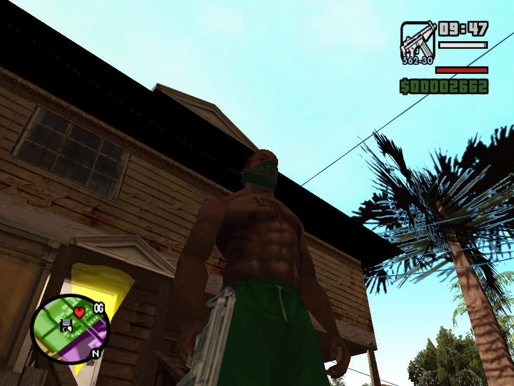 Grand Theft Auto: San Andreas Windows Our hero.