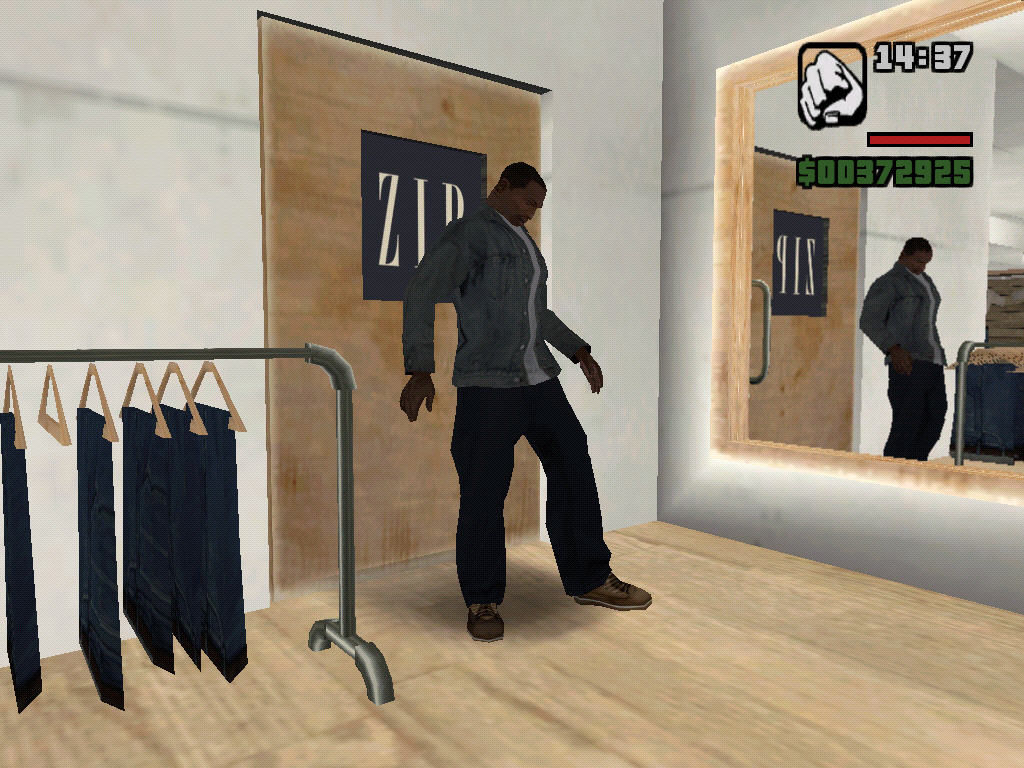 Grand theft auto san andreas windows new clothes