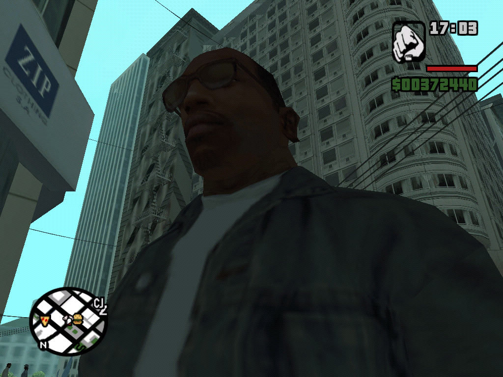 Grand Theft Auto: San Andreas Windows I saw this guy before...