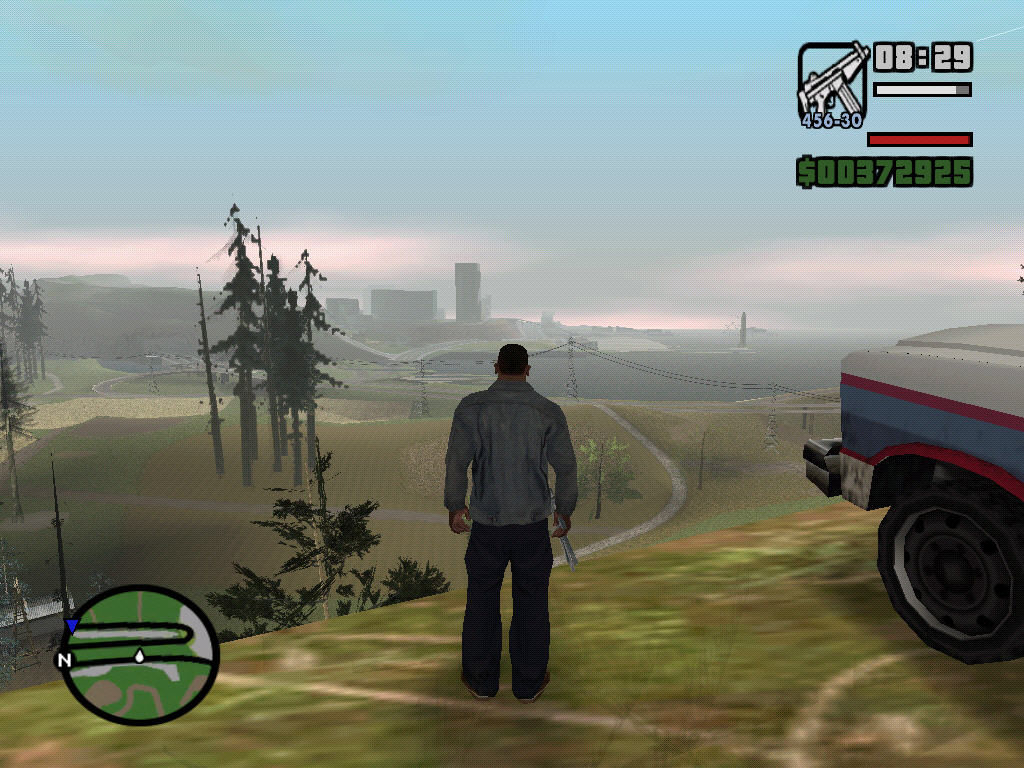 Grand theft auto san andreas windows west of los santos