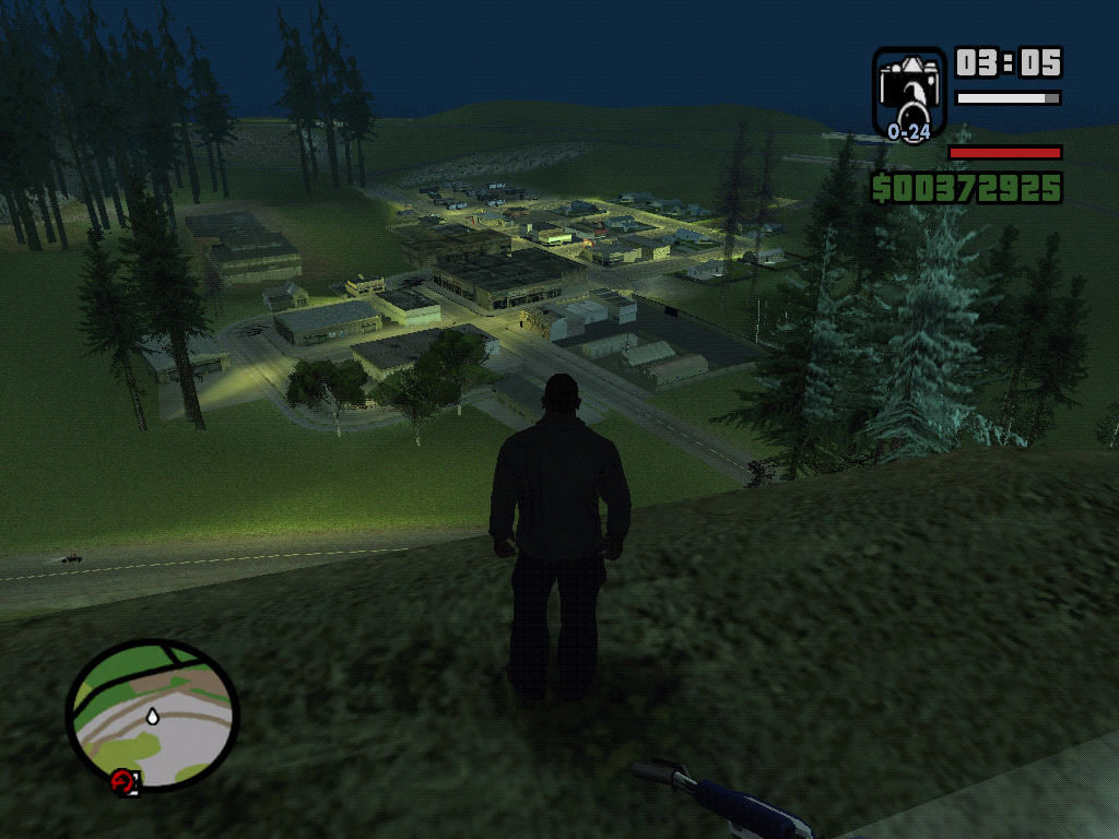 Grand Theft Auto: San Andreas Windows Angel Pike.