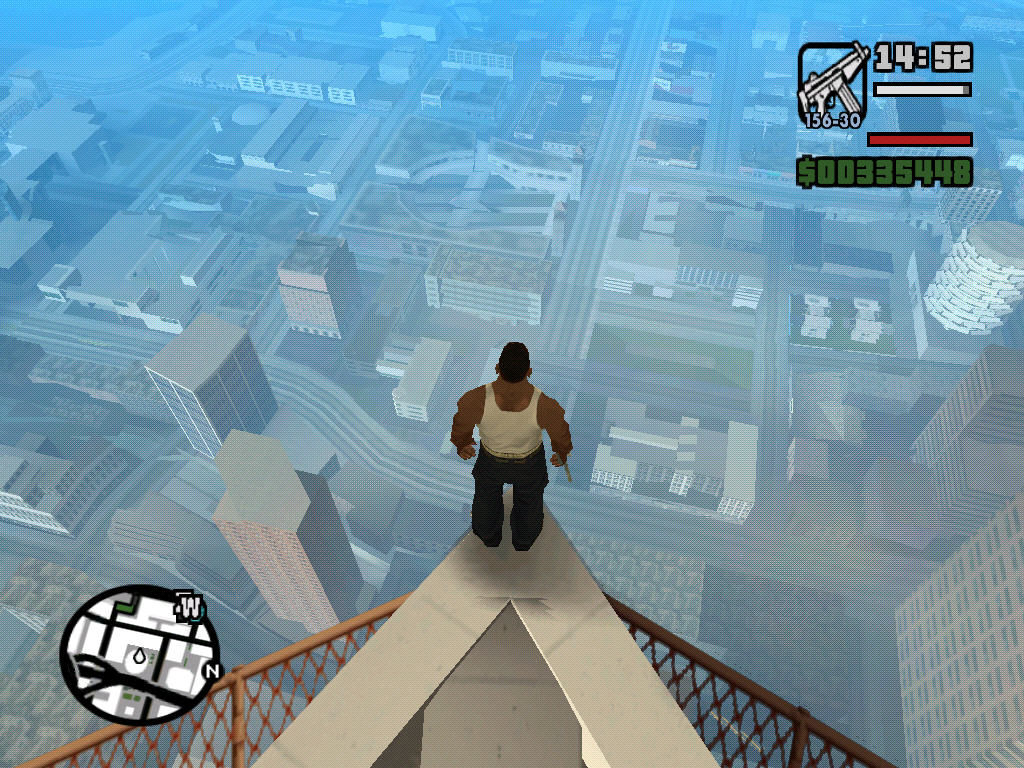 Grand Theft Auto: San Andreas Windows Prepare to jump...