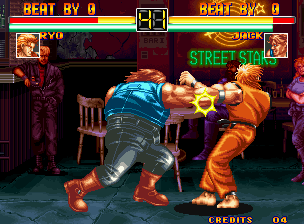 Art of Fighting Neo Geo Ryo VS. Jack