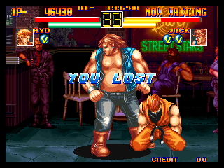 "Art of Fighting Neo Geo Ryo VS. Jack Post-Fight ""You Lost"""