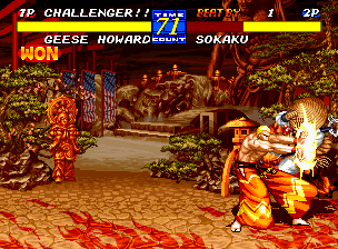 Fatal Fury 3: Road to the Final Victory Neo Geo You don't necessarily have to have the power of demons to show your opponent who's boss! >:)