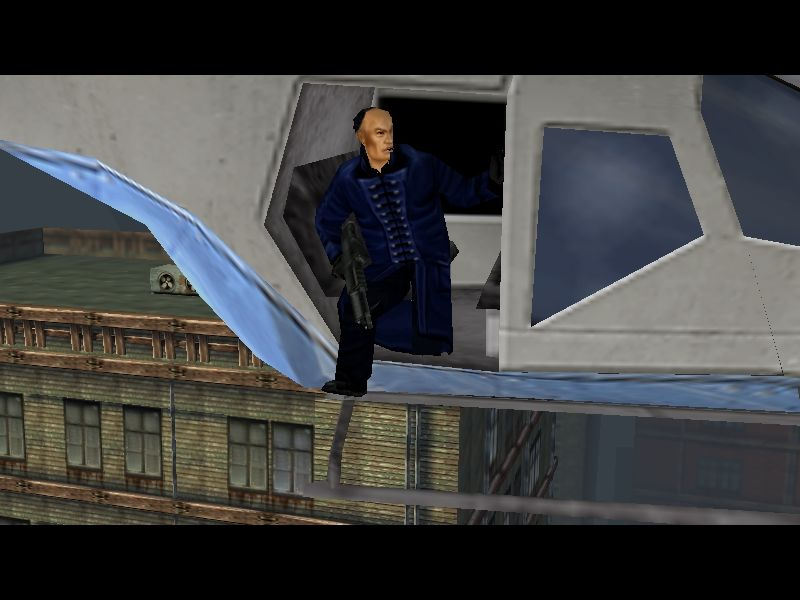 Hitman: Codename 47 Windows Death from Above. Once alerted, the enemy will often come down in force, using everything from heavy weapons to helicopters to put you away.