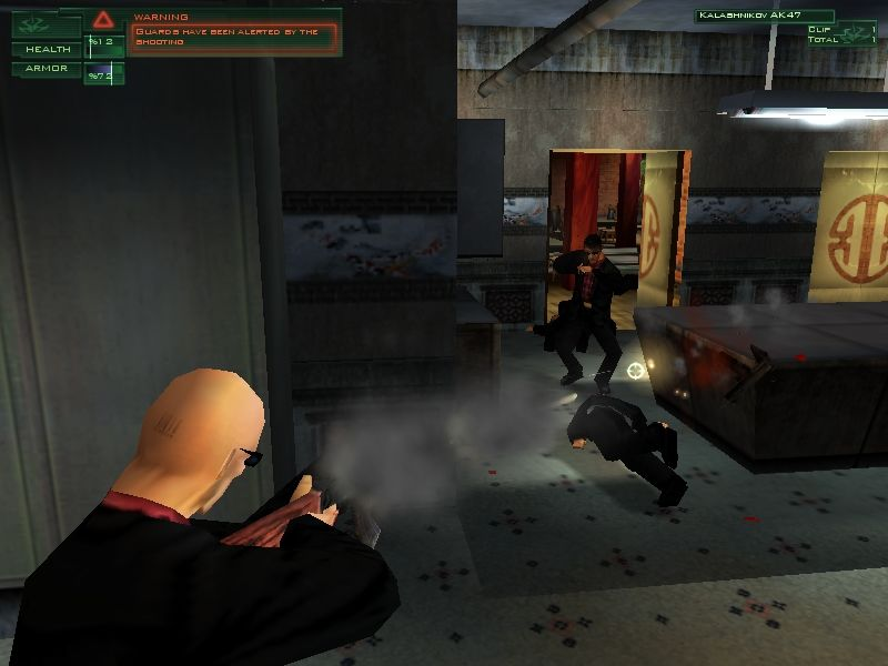 Hitman: Codename 47 Windows Ammo!!! Firefights are very costly in terms of bullets, health, and your most important possession...the element of surprise.