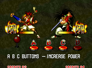 Samurai Shodown III: Blades of Blood Neo Geo Like in previous games, you can watch (or not) a brief tutorial before playing.