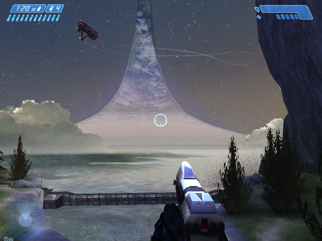 Halo: Combat Evolved Windows A lovely view of Halo