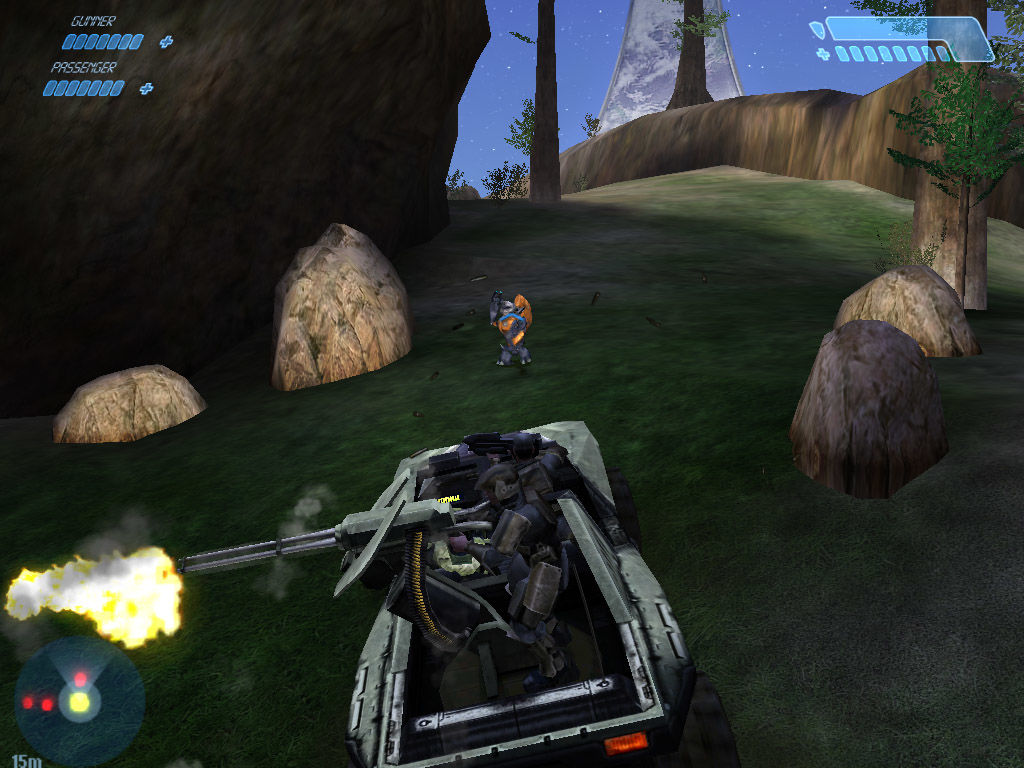 Halo: Combat Evolved Windows Roadkill up ahead